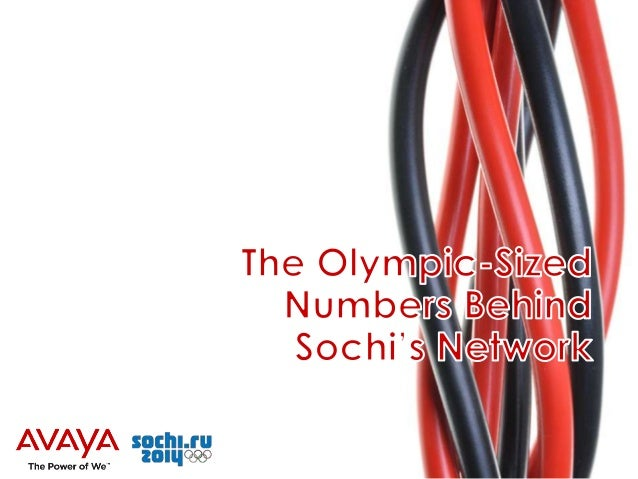 The Olympic-Sized Number's Behind Sochi's Network