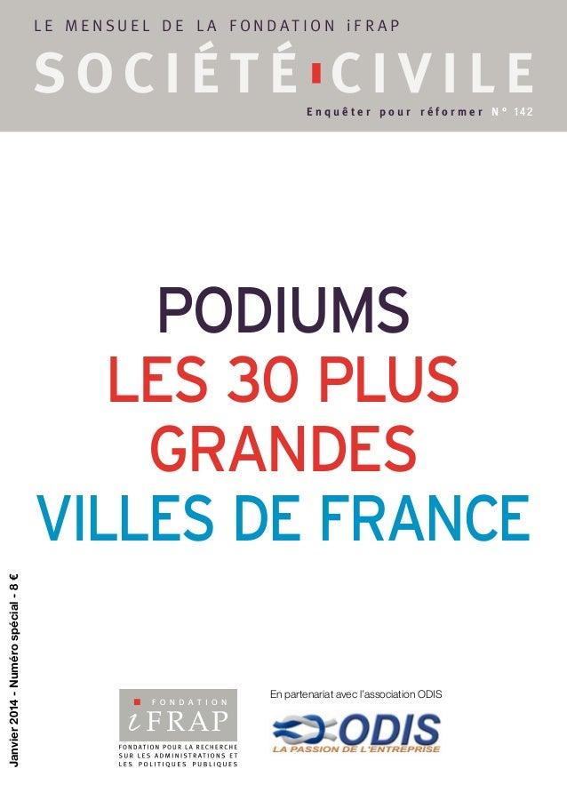SC142 : Podium, les 30 plus grandes villes de France