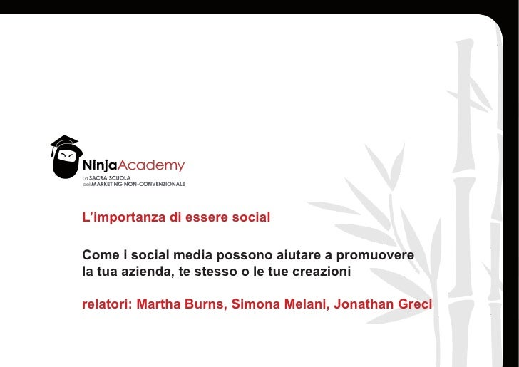 Ninja Summer Camp 2011 - Social Media - Facebook Twitter FourSquare