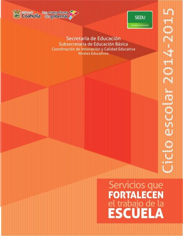 1 COORDINACIÓN DE INNOVACIÓN Y CALIDAD EDUCATIVA ACTIVIDAD OBJETIVO DIRIGIDO A COBERTURA Programa Escuela Segura Promover ...