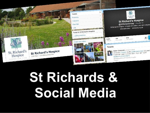 Social Media Content Strategy for St Richards Hospice