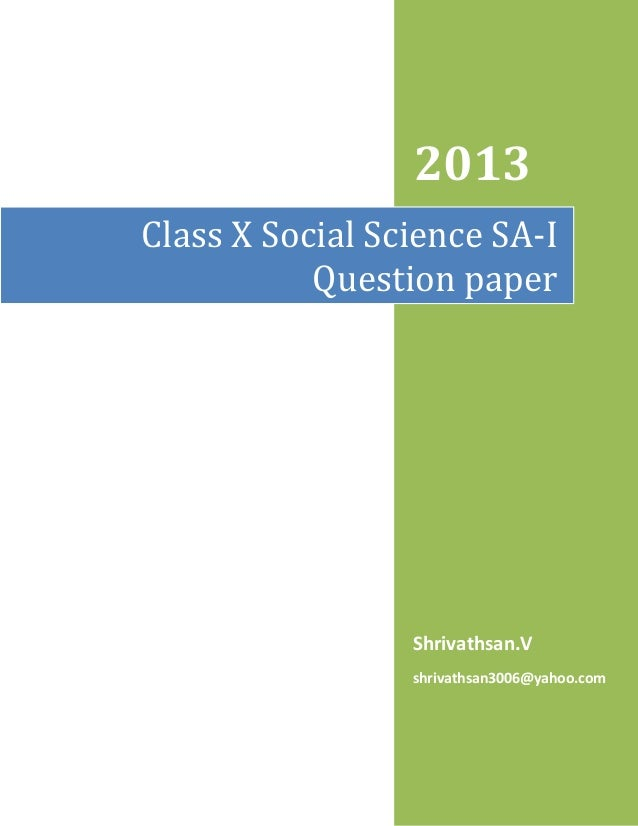 essay on science and society