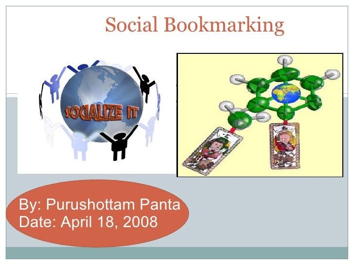 Social Bookmarking (Purushottam Panta)