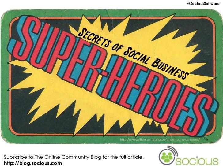 Social Business Superhero Secrets