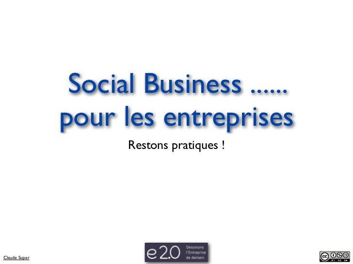 Social Business   Social CRM