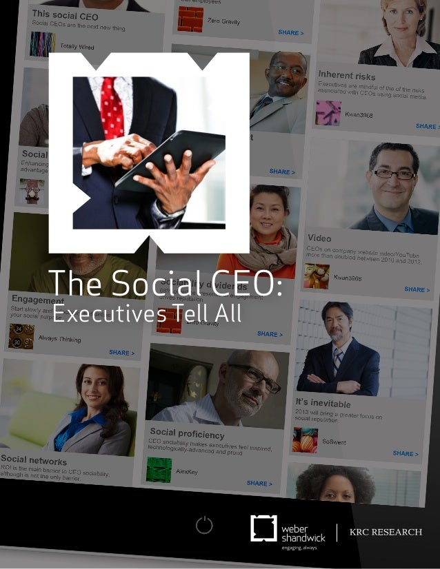 The Social CEO: Executives Tell All