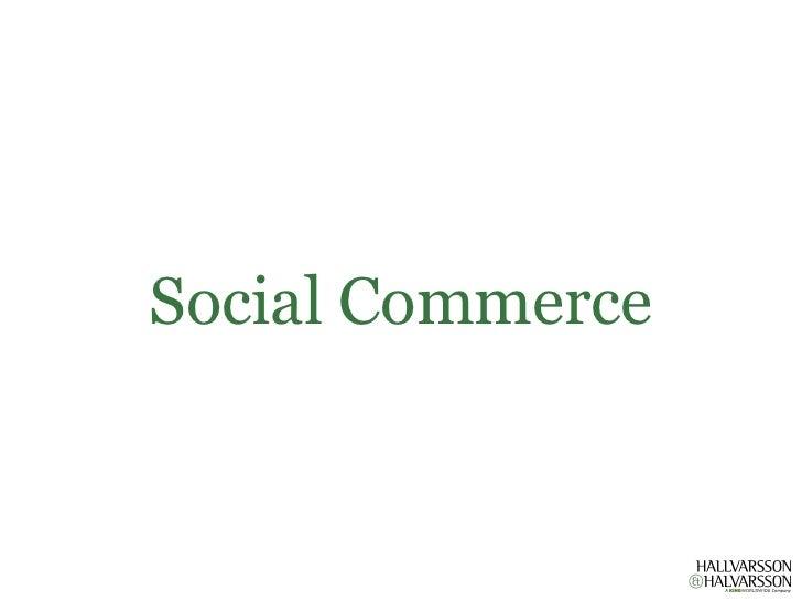 Social Commerce Björn Alberts 2011