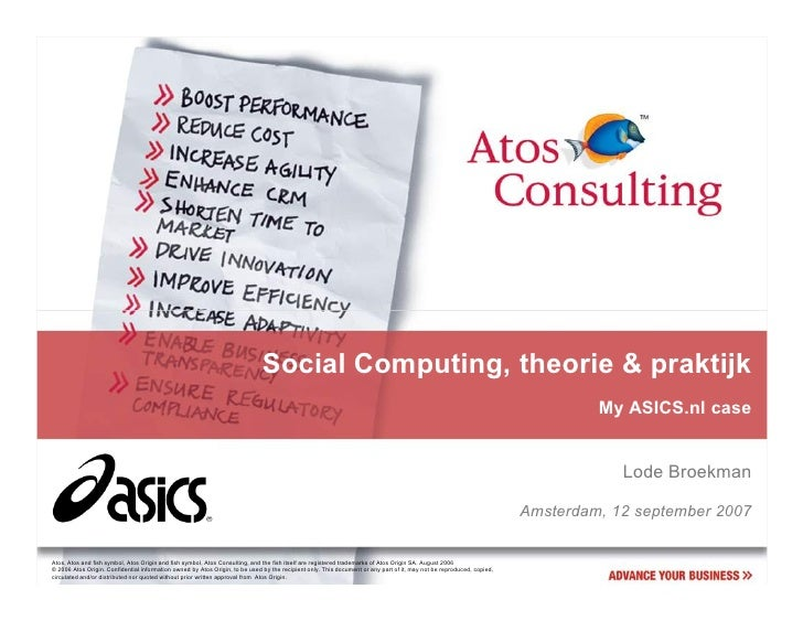 Social Computing, theorie & praktijk                                                                                      ...