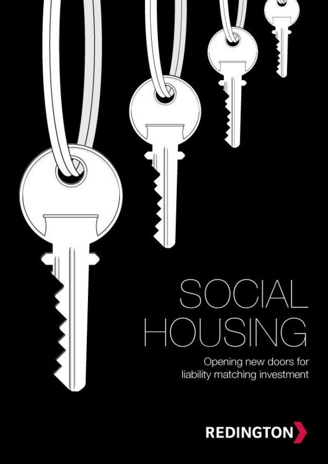 Social housing- Opening New Doors for Liability Matching Investment