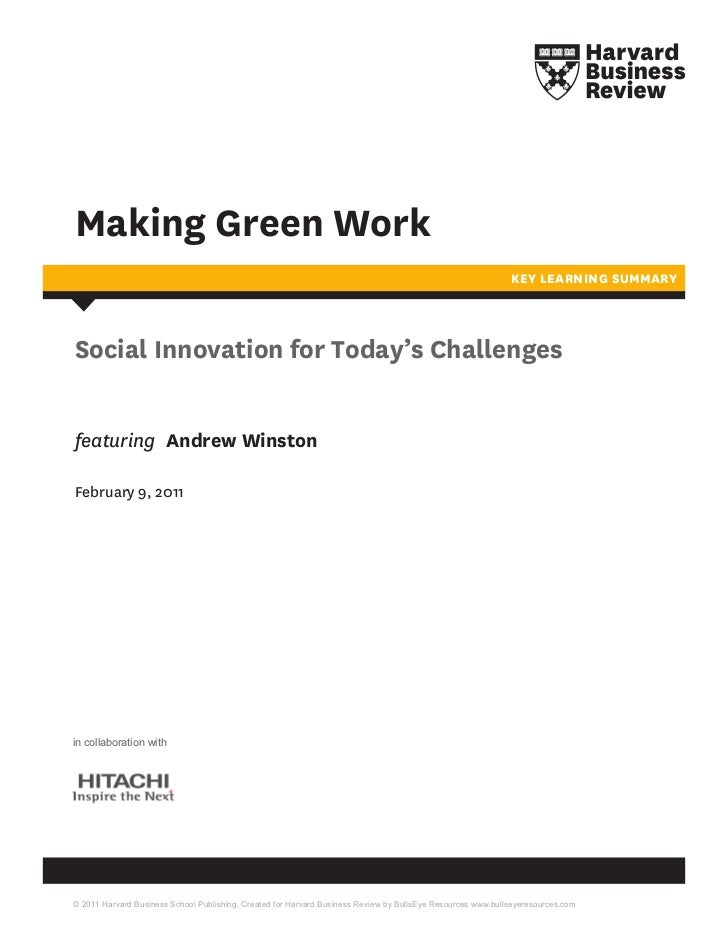 Social Innovation for Today's Challenges: Hitachi
