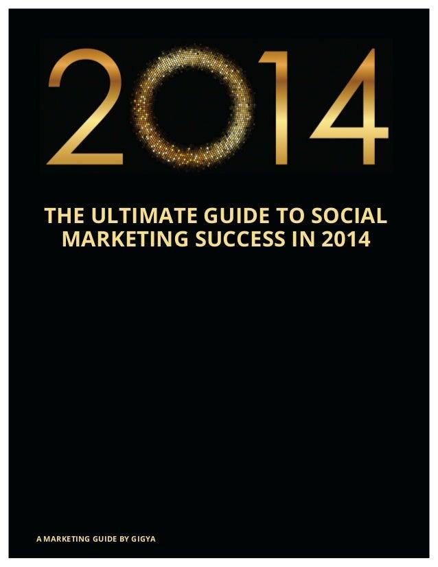 2014 Social Marketing Success Guide