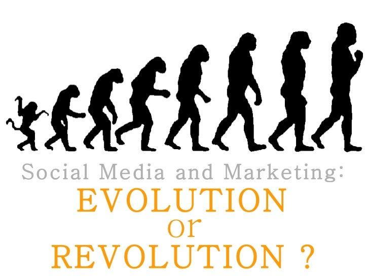Evolucion o Revolucion ..