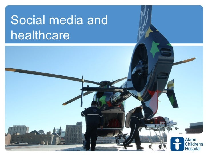 Social media andhealthcare