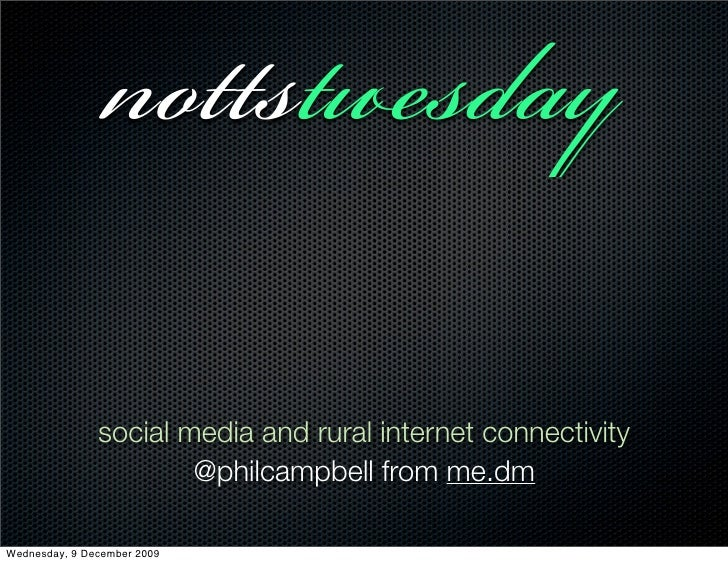 ss                social media and rural internet connectivity                        @philcampbell from me.dm  ...
