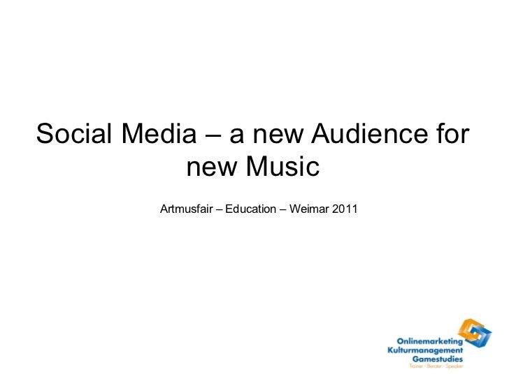 Social Media and Contemporary Music