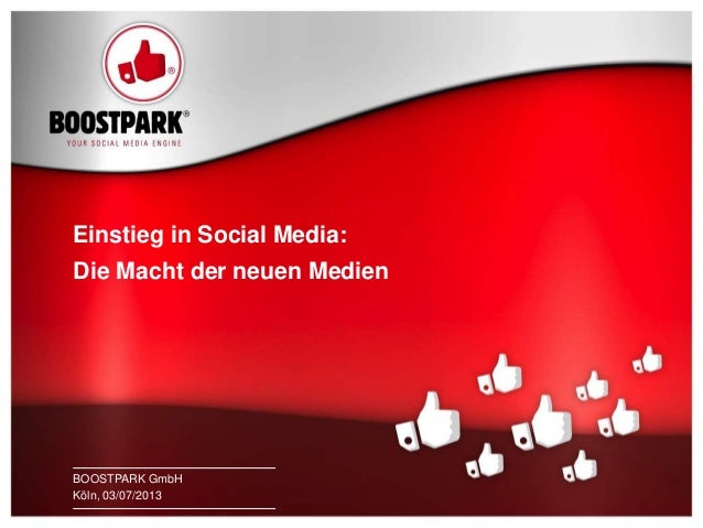 Einstieg in Social Media: Die Macht der neuen Media