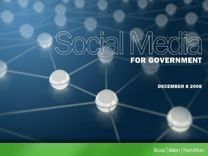 Social Media For Government  Blogging 101 Presentation