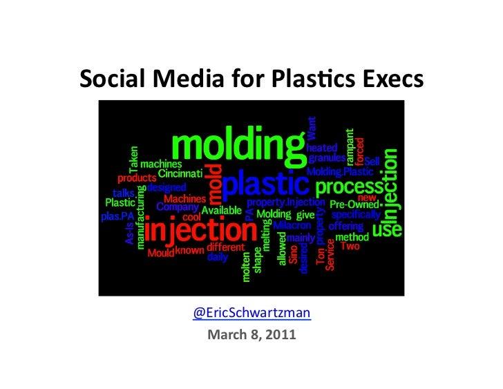 Social Media for Plastics Executives