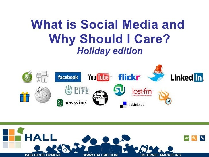 What is Social Media and  Why Should I Care? Holiday edition http://www.flickr.com/photos/violentz/2340808526/