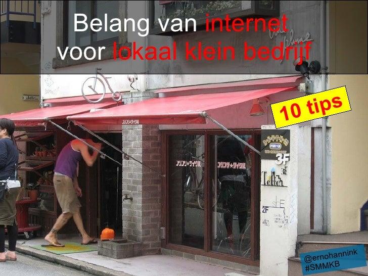 Social media en internet voor lokaal klein bedrijf