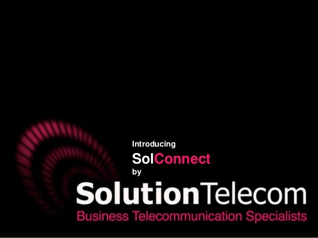 SolConnect - Social Media Management by Solution Telecom