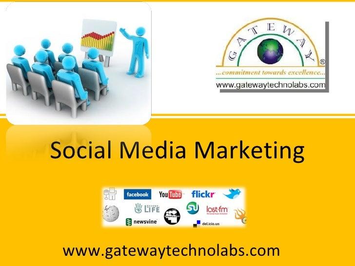 Social Media Marketing, Search Engine Optimization, PPC, Email Marketing