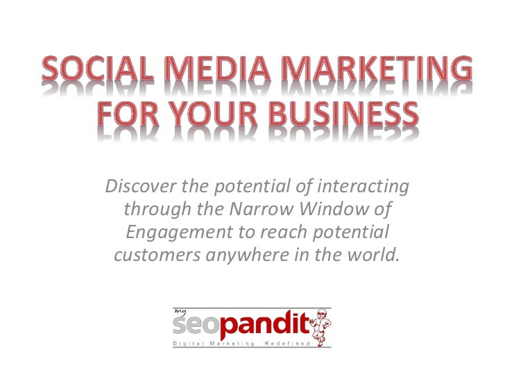 Discover the potential of interacting  through the Narrow Window of  Engagement to reach potential customers anywhere in t...