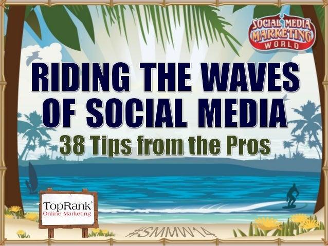 Lee  Odden   CEO,  TopRank  Marke2ng   Michael  Stelzner   CEO,  Social  Media  Examiner   Are  yo...