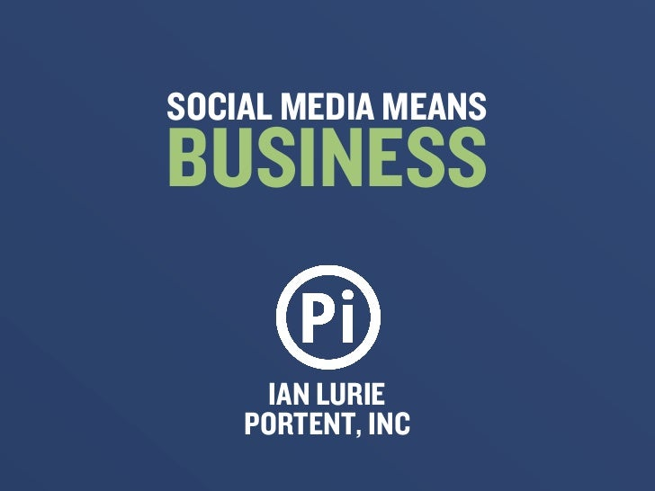 Social media means business for Portent means