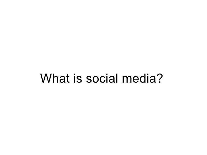 Social Media and Identity