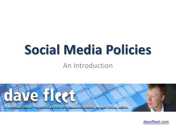 Social media-policies-ebook