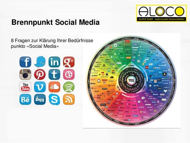 Brennpunkt Social Media 8 Fragen zur Klärung Ihrer Bedürfnisse punkto «Social Media»