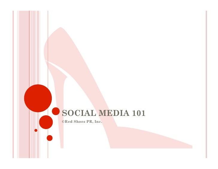 Social Media Presentation101