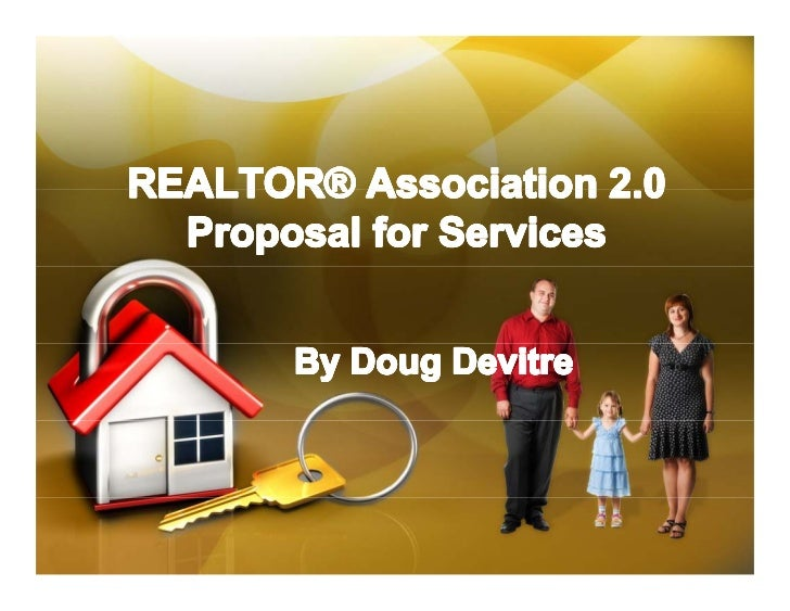 Social Media Proposal For Realtor Associations