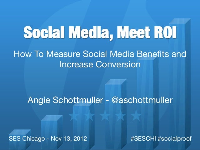 Social Media, Meet ROI How To Measure Social Media Benefits and          Increase Conversion                               ...