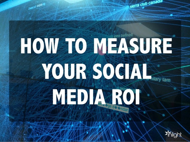 A simple guide to measuring your social media ROI