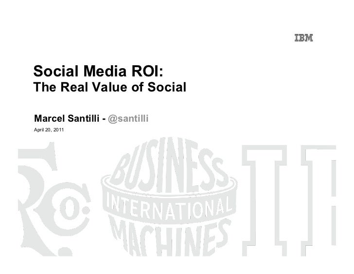 Social Media ROI: The Real Value of Social