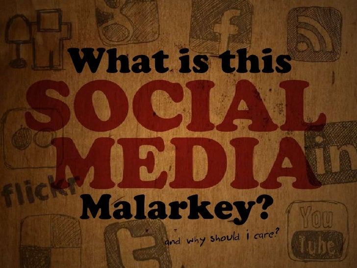 What is this Social Media malarkey? (safe version)