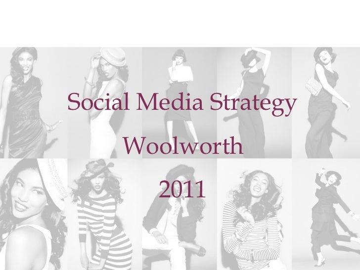 Social media-strategy woolworths