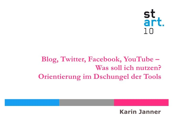 Social media-tools-vortrag-karin janner-start10