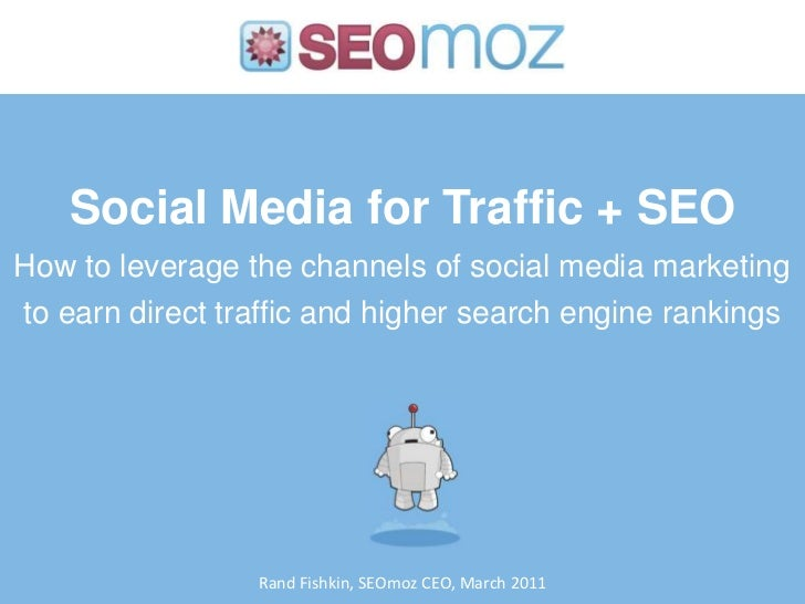 Social Media Marketing for Traffic + SEO