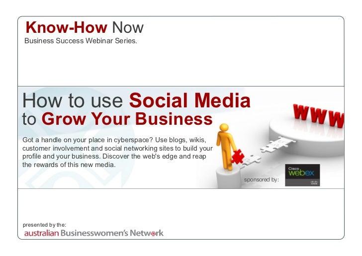 Social Media Webinar Slides 170908