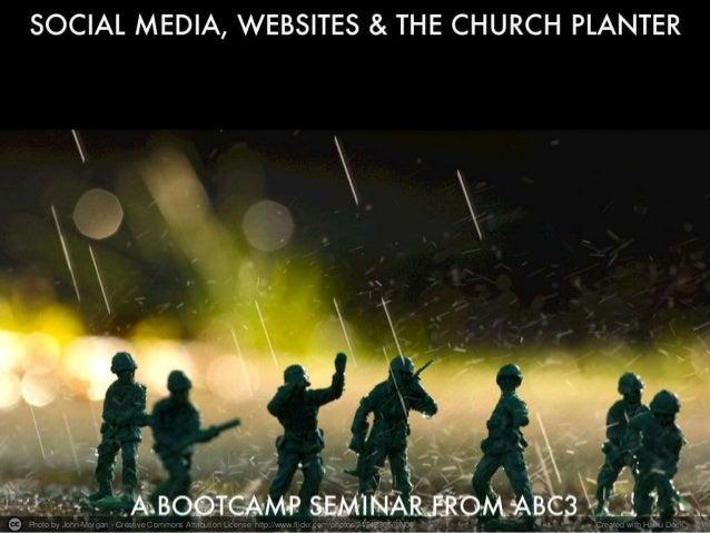 Social Media, Websites & Church Planters