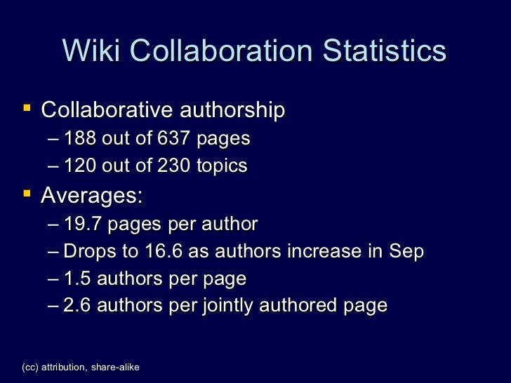 Social Network Analysis of TikiWiki - Wiki Stats