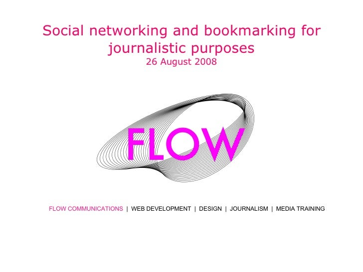 Social Networking for Journalists