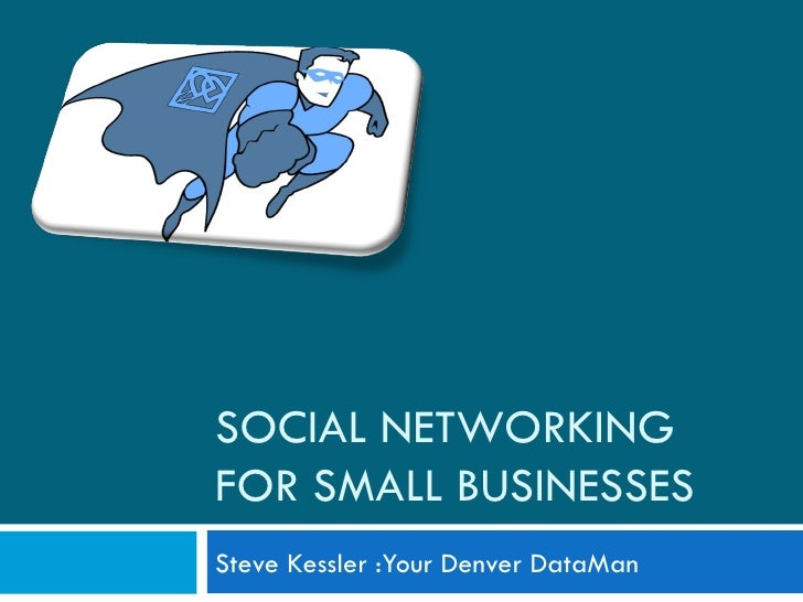 Social Networking For Small Business Edited