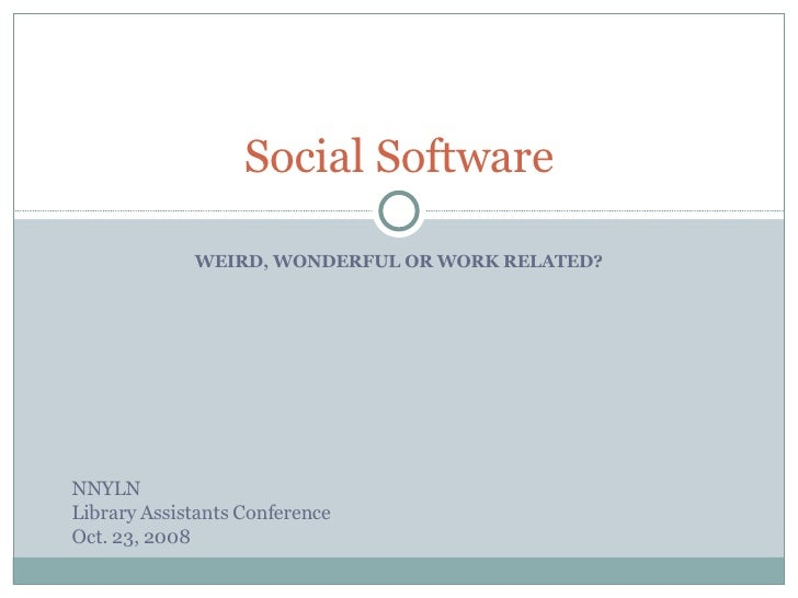 Social Networking NNYLN