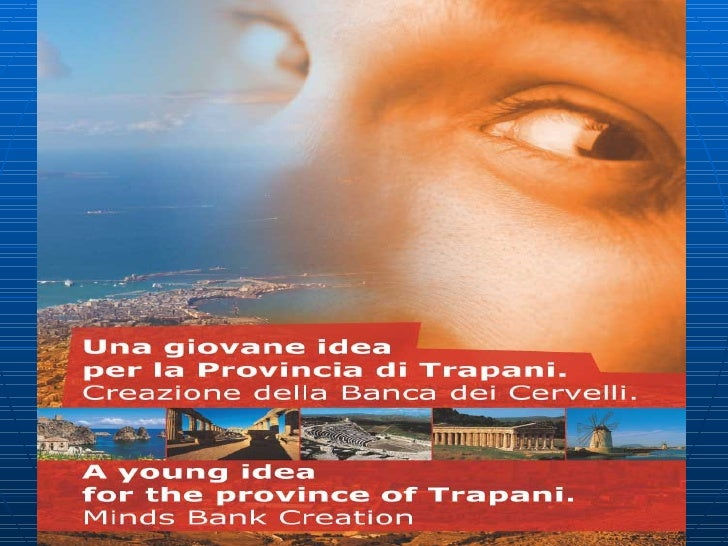 Social Networking Outlook For The Land Of Trapani.