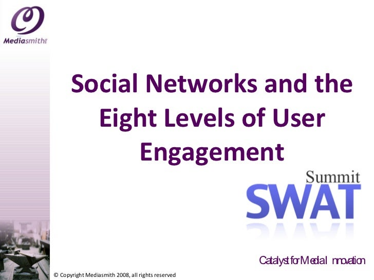 Social Networks and the Eight Levels of User Engagement