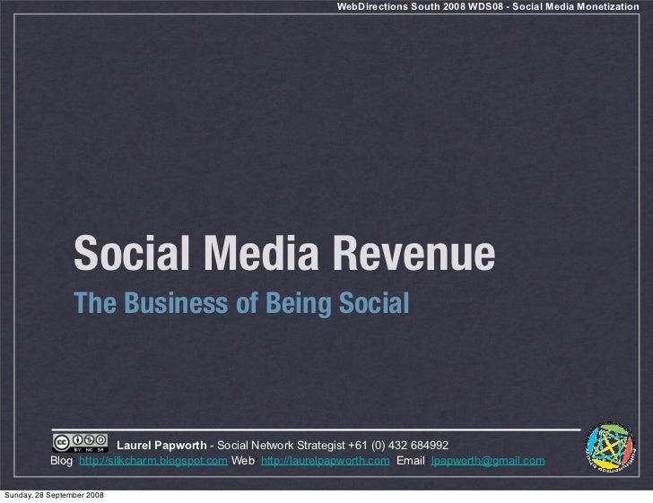 Social Networks Monetized Revenue